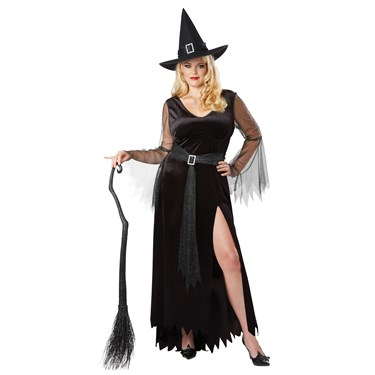 Rich Witch Women's Plus Costume