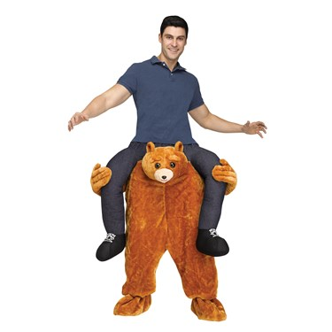 Ride A Bear Adult Costume
