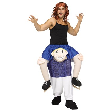 Ride a Figure Skater Adult Costume