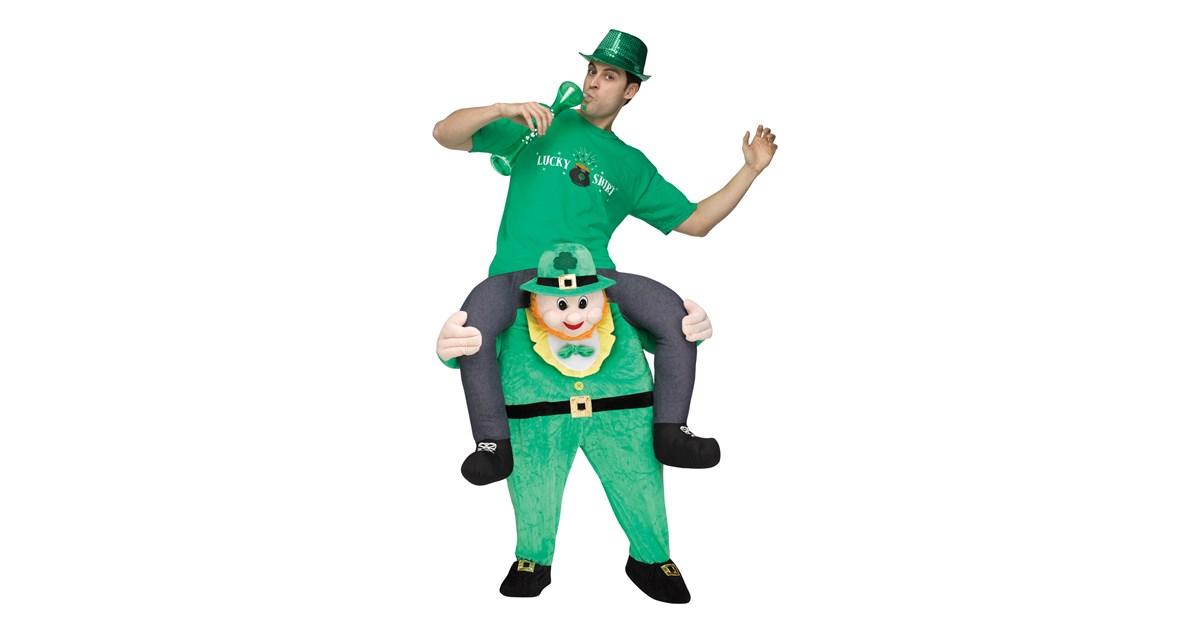 Ride a Leprechaun Adult Costume | BuyCostumes.com