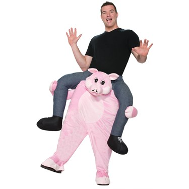 Ride a Pig Adult Costume