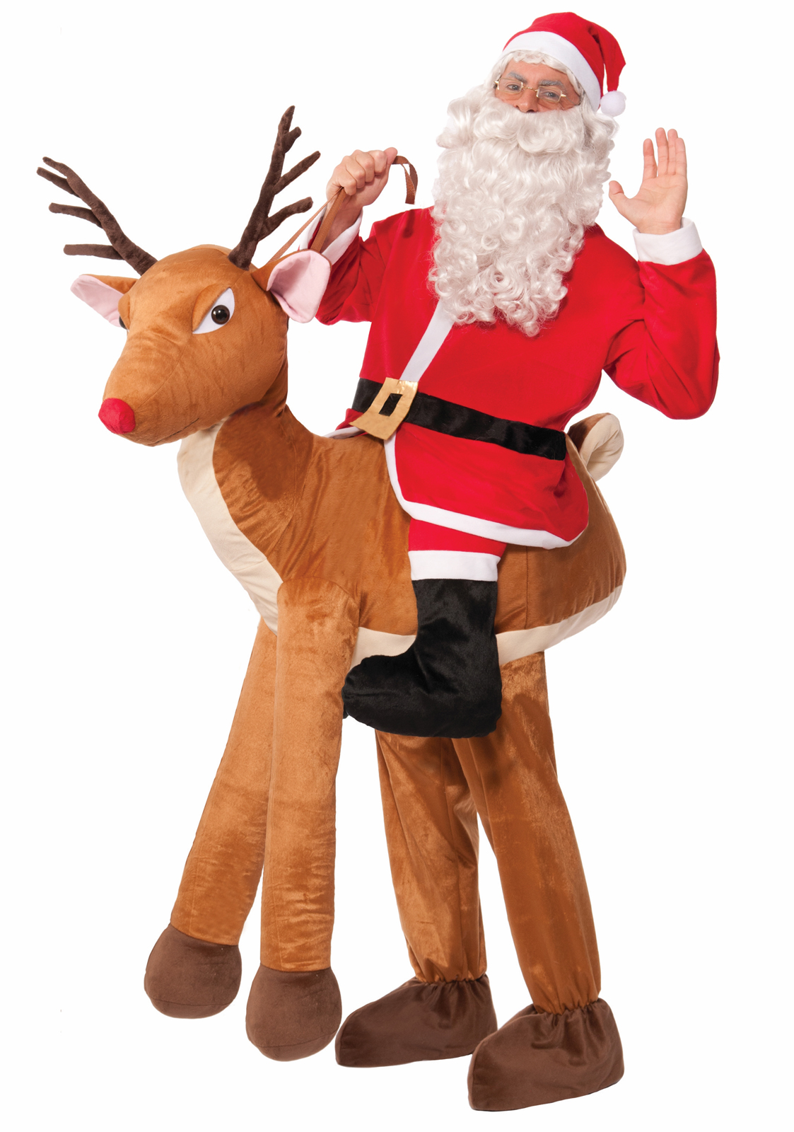 Ride a Reindeer Adult Costume | BuyCostumes.com