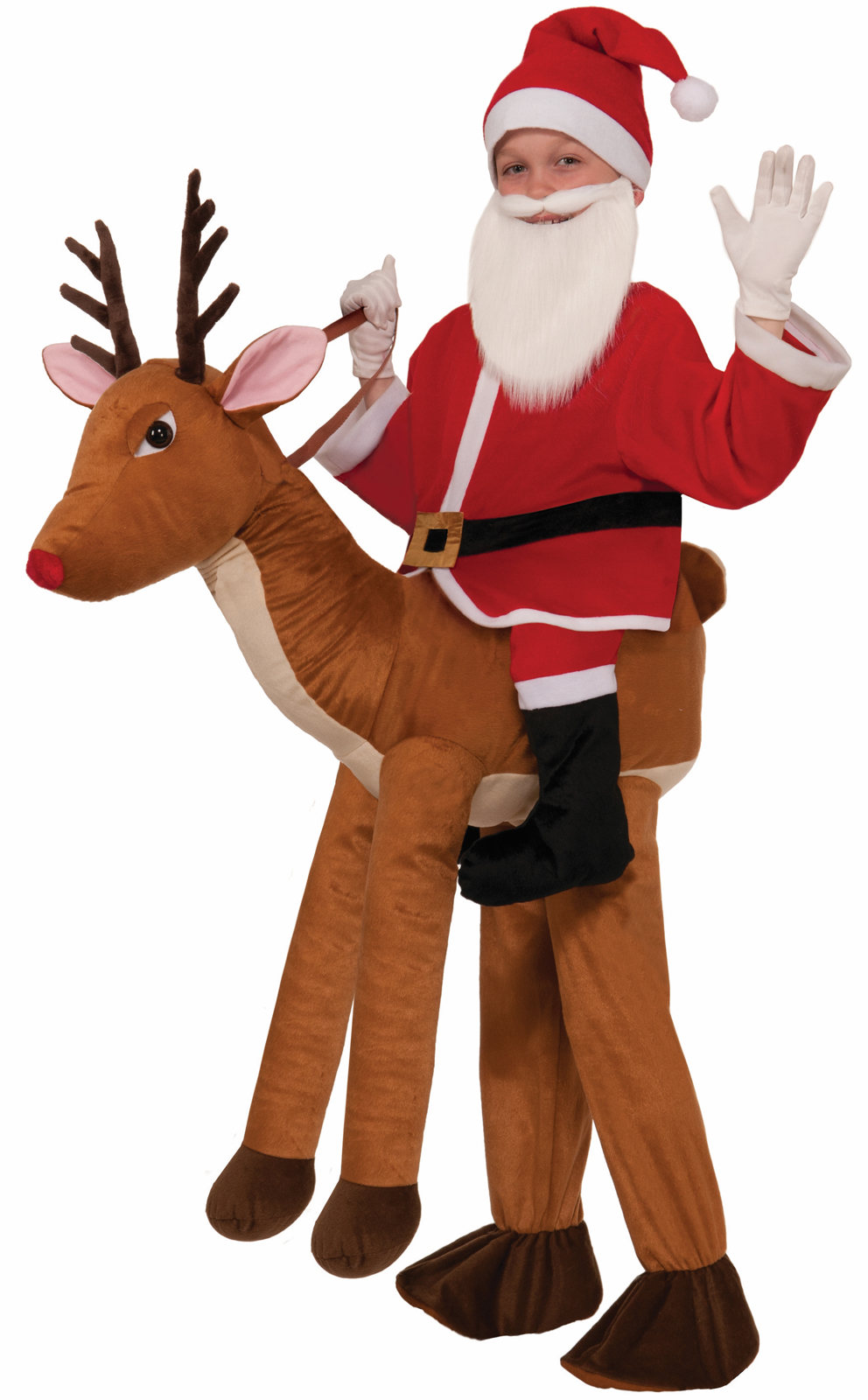 Ride a Reindeer Child Costume | BuyCostumes.com