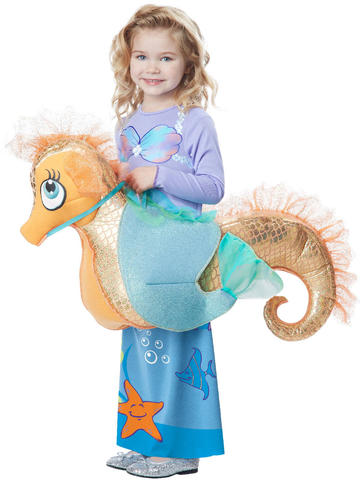 ride a seahorse child costume buycostumes com