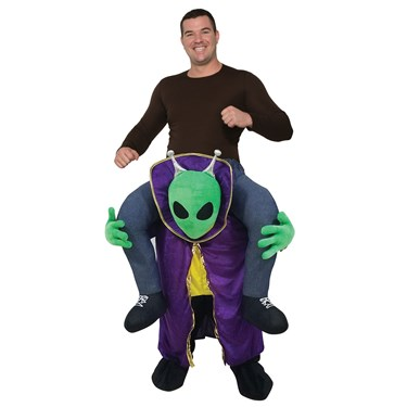 Ride an Alien Adult Costume