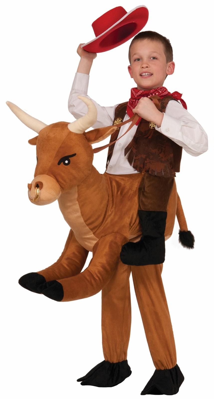 Ride on a Bull Costume for Children