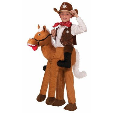 Ride On Horse Child Costume