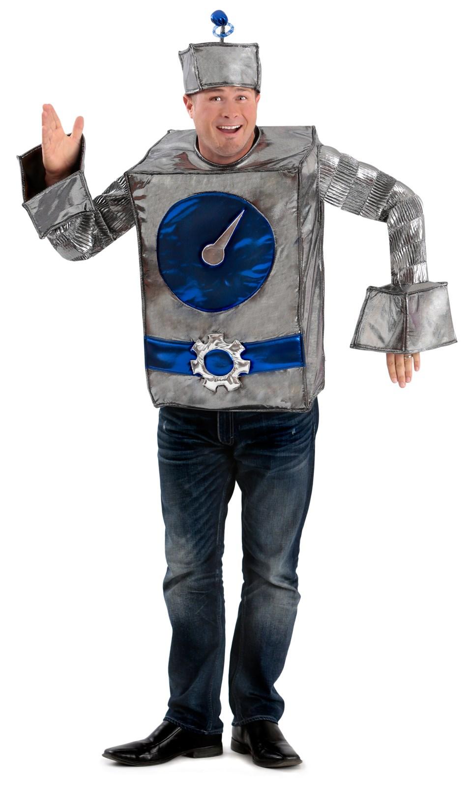 Robot Man Adult Costume