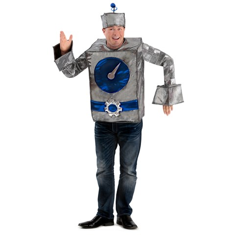 Robot Man Adult Costume