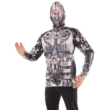 Robot Mask Adult Hoodie