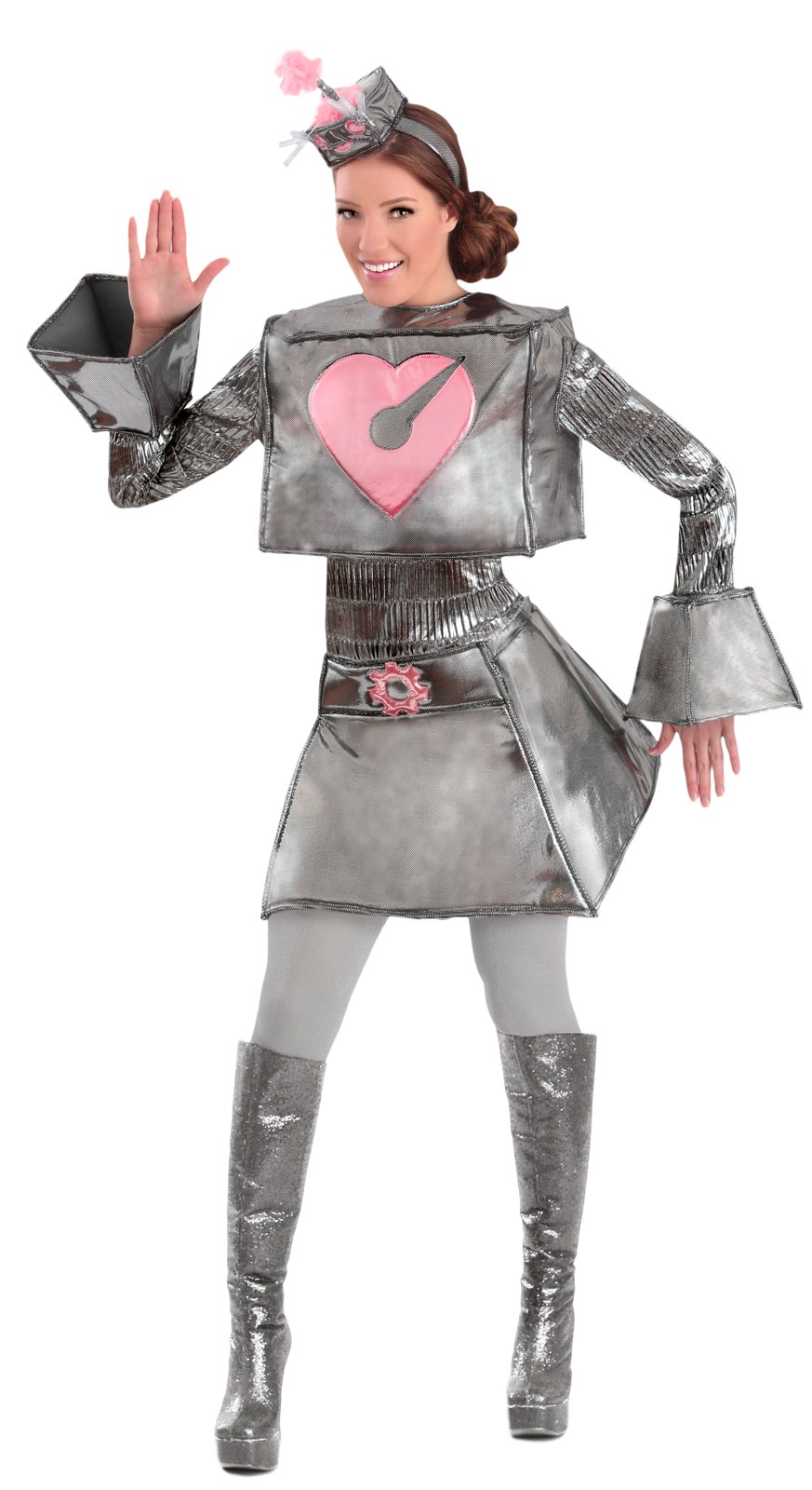Robot Woman Adult Costume
