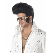 Rock N Roll Black Adult Wig