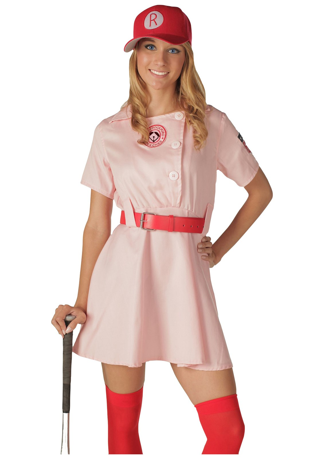 Rockford Peaches Adult Costume | BuyCostumes.com