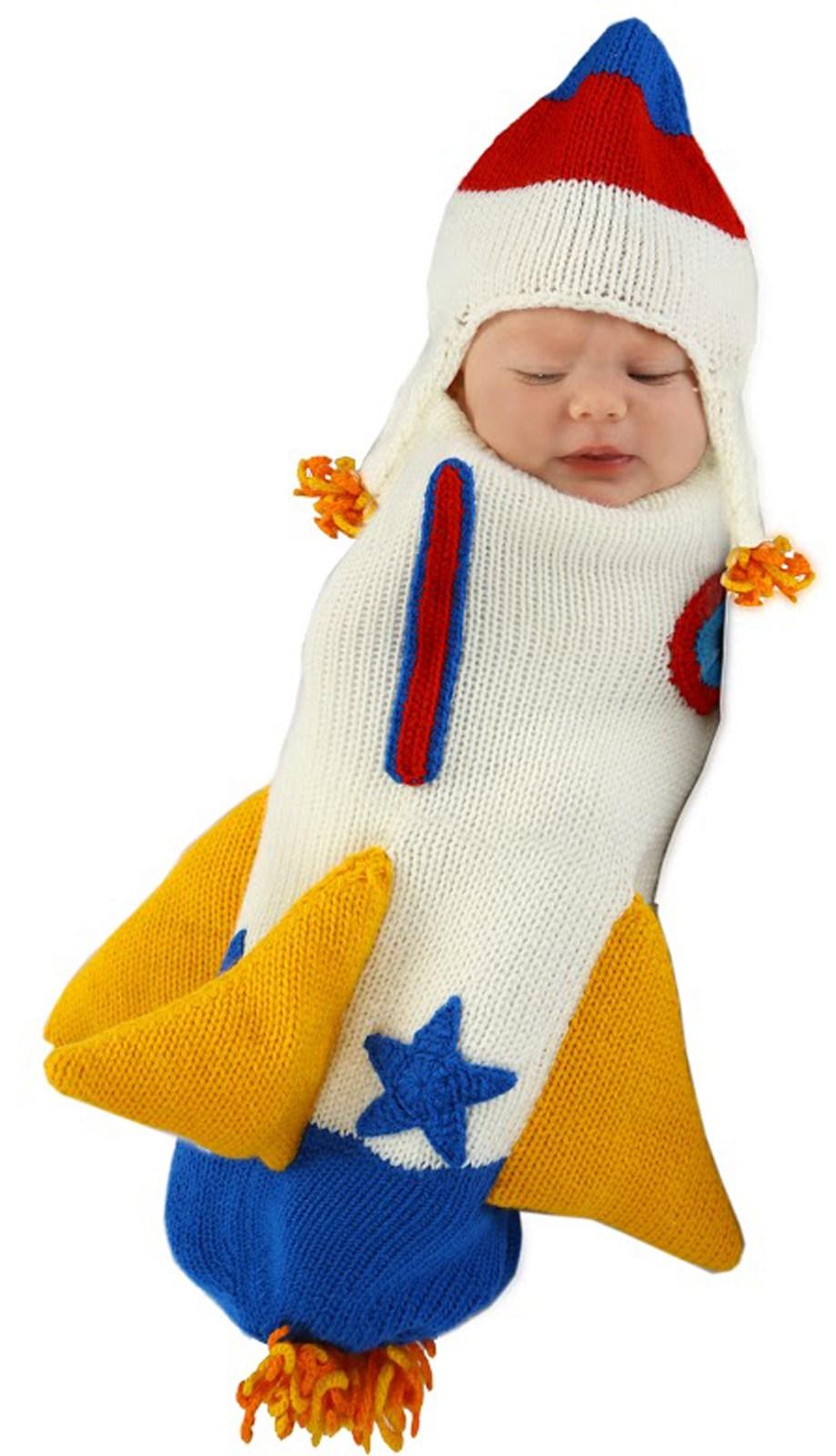 Roger the Rocket Ship Bunting Infant Costume