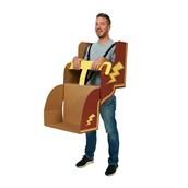 Roller Coaster DIY Cardboard Costume