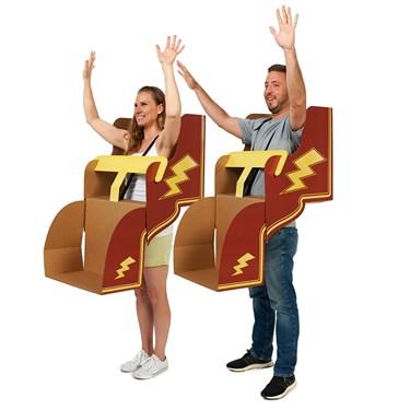 Roller Coaster DIY Cardboard Group of 4 Kit