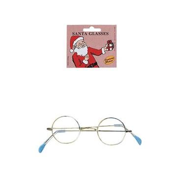 Round Eye Glasses Clear