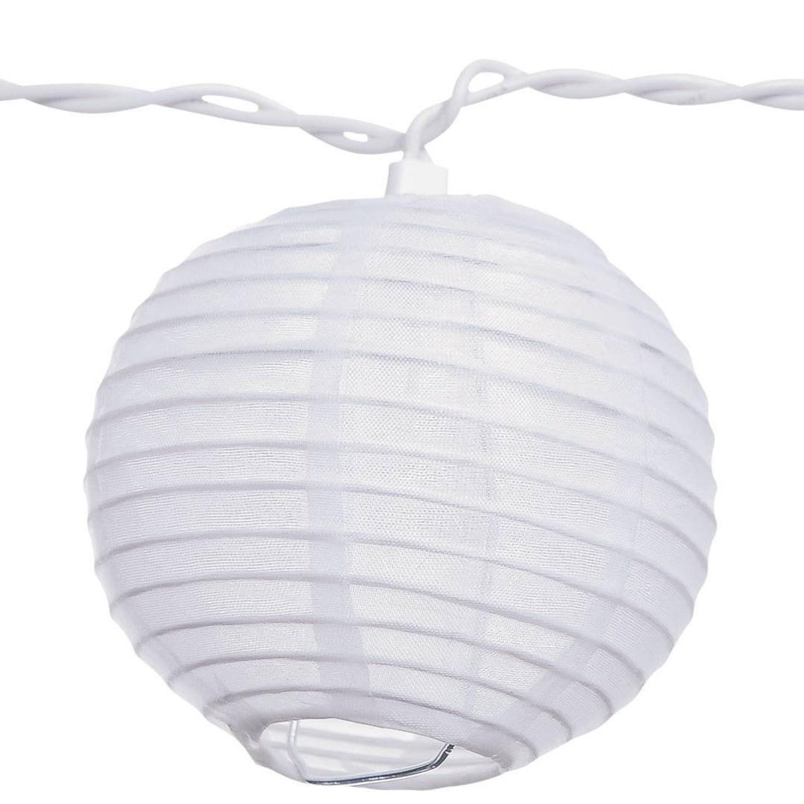 Round Lantern String Lights : Round Lantern String Lights (11 Feet Long) BuyCostumes.com