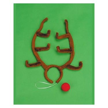 Rudolph Antler Set