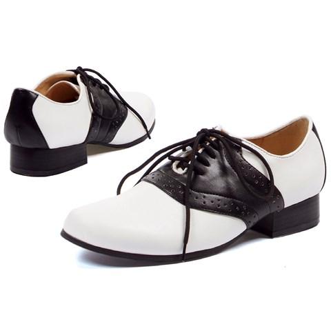 Saddle (Black/White) Adult Shoes