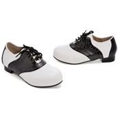 Saddle (Black/White) Child Shoes