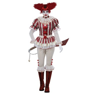 Sadistic Clown Women's Costume