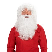 Santa Adult Beard and Wig