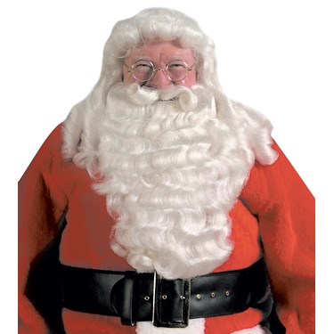 Santa Deluxe Wig & Beard