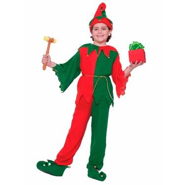 Santa's Elf Child Costume