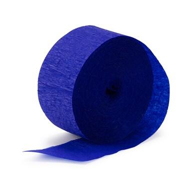 Sapphire Blue (Blue) Crepe Streamer - 81'