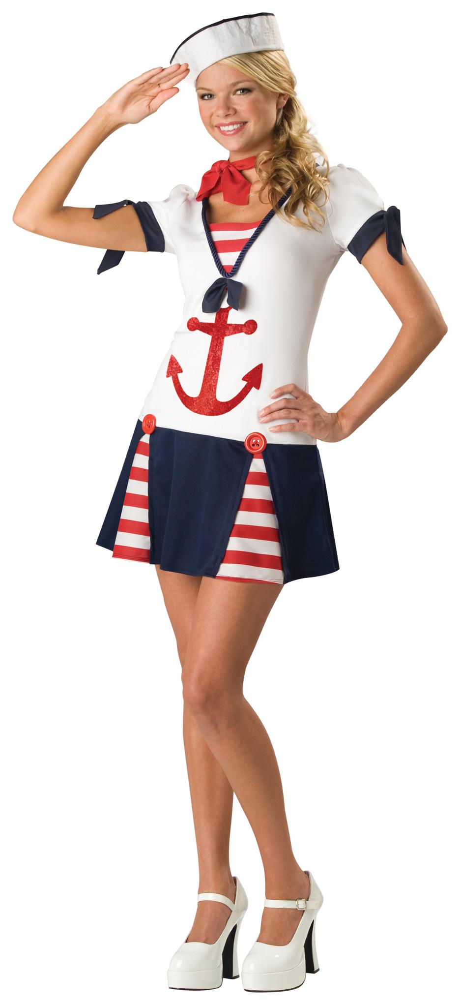 Sassy Sailor Teen Costume BuyCostumescom - Cruise ship costume