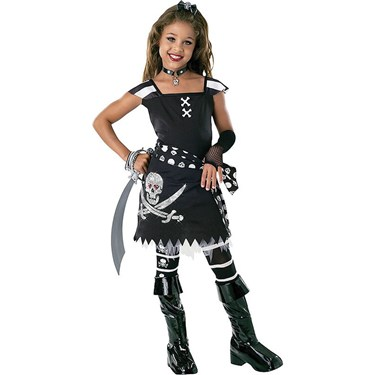 Scar-let Pirate Child Costume