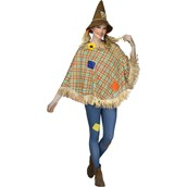 Scarecrow Adult Poncho