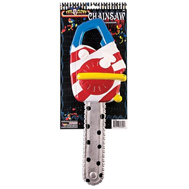 Scary Clown Chainsaw