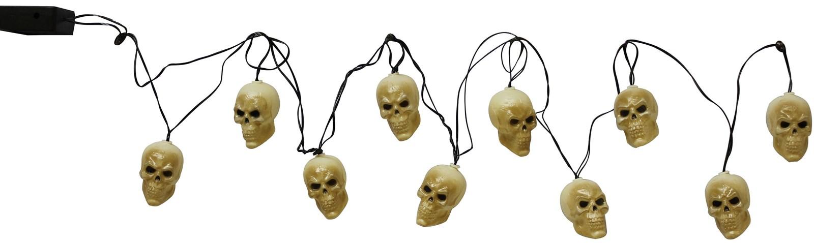 Scary Skull String Lights