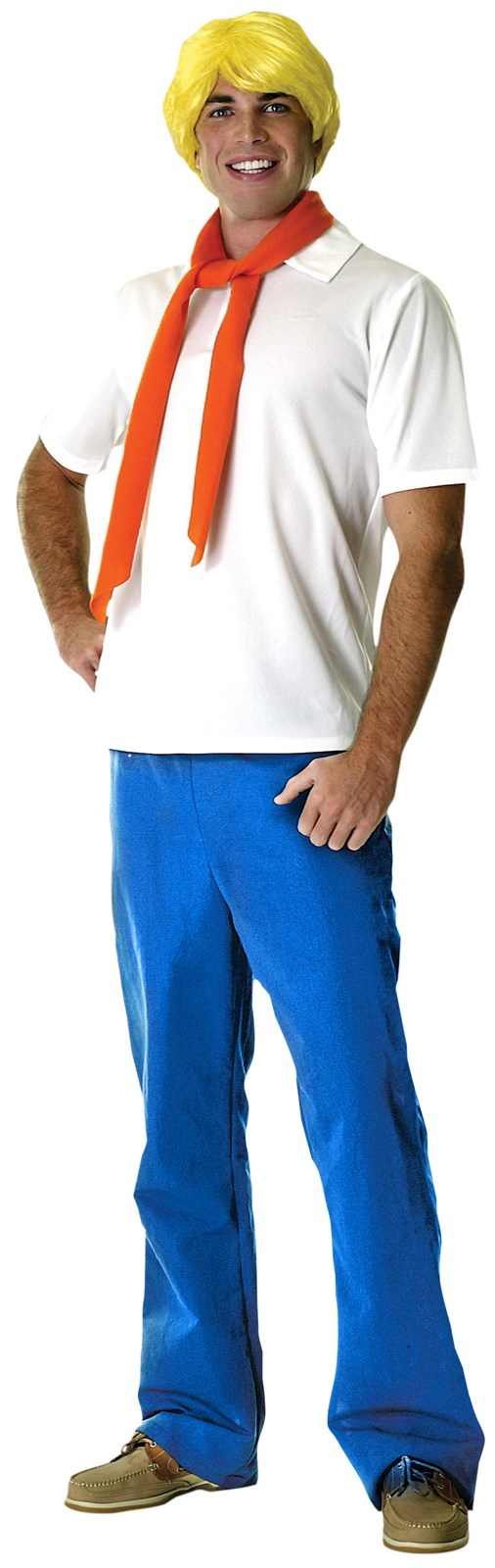 Cute halloween yard decorations - Scooby Doo Fred Adult Costume Buycostumes Com