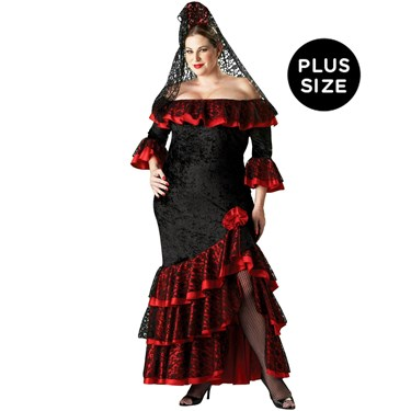 Senorita Elite Collection Adult Plus Costume