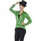 Sequin Tailcoat Jacket Women's