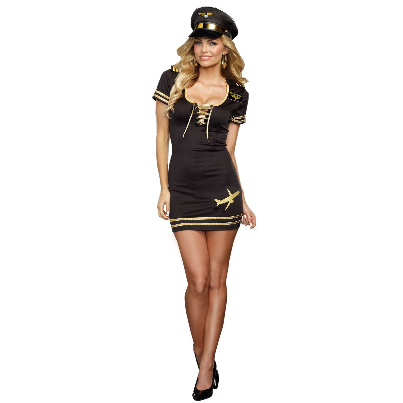Service with a Smile Pilot Costume For Adults | BuyCostumes.com