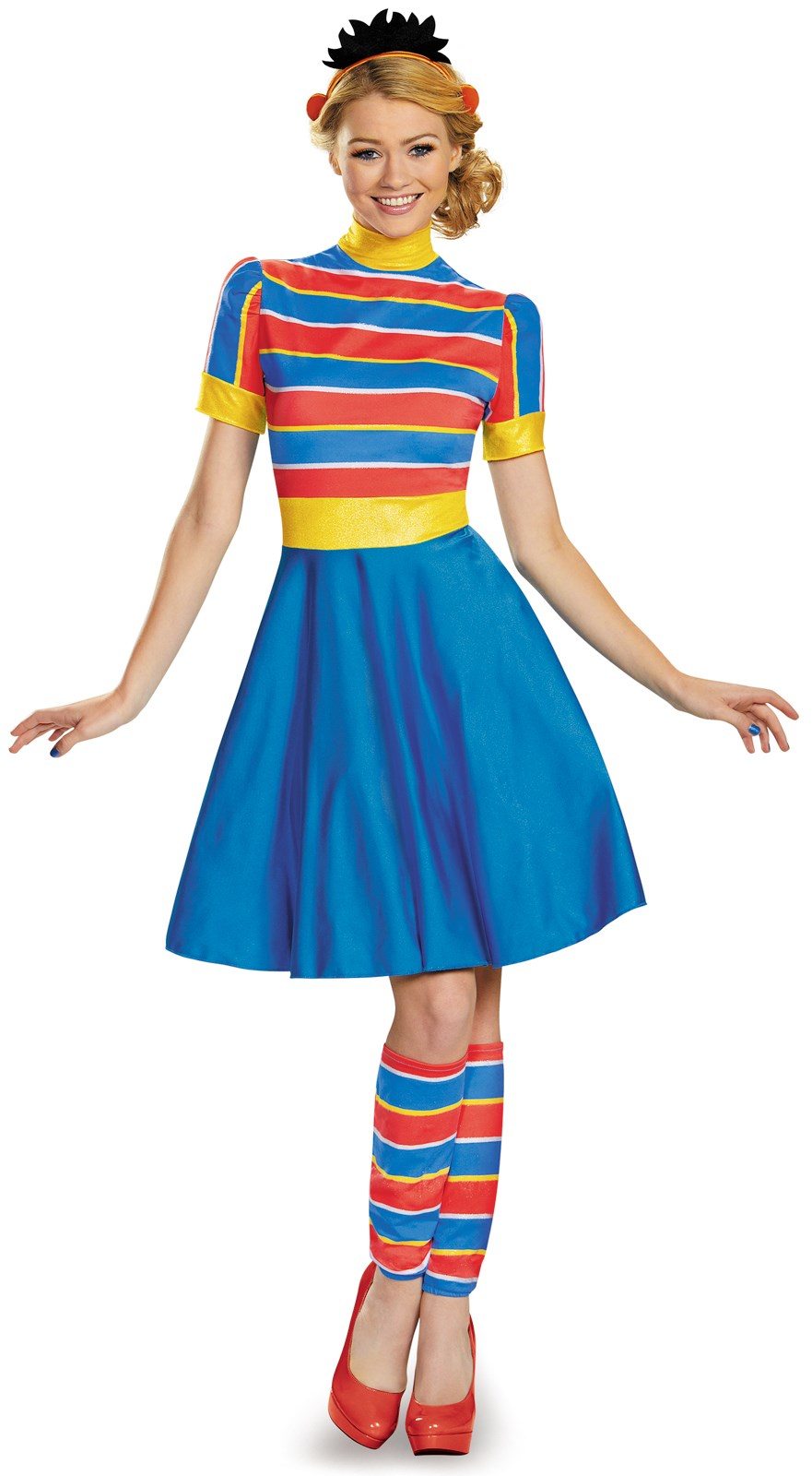 Sesame Street Adult Ernie Ladies Costume