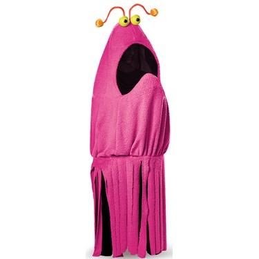 Sesame Street Adult Yip Yip Magenta Costume