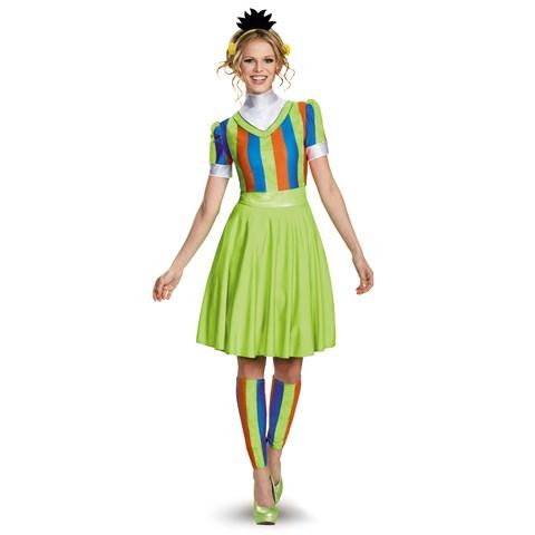 Sesame Street Bert Ladies Costume For Adults