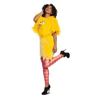 Sesame Street  Big Bird Ladies Deluxe Adult Costume