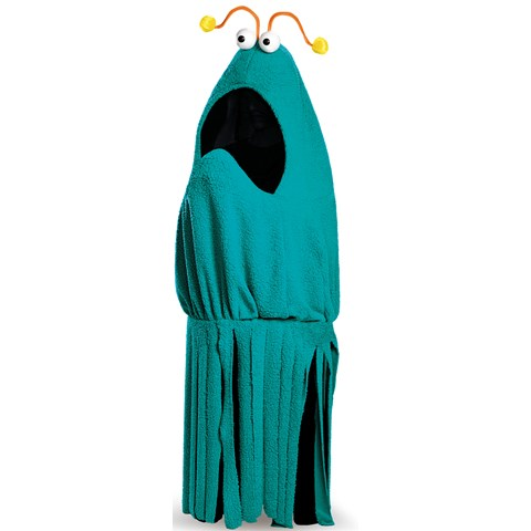 Sesame Street Blue Yip Yip Costume For Adults
