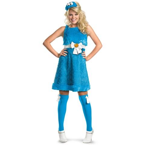 Sesame Street - Cookie Monster Sassy Female Adult Costume