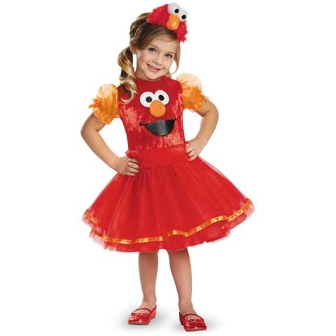 Sesame Street Girls Deluxe Elmo Tutu Costume