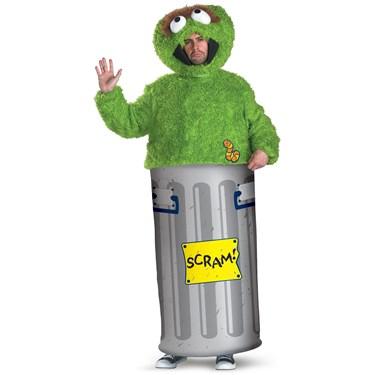 Sesame Street Oscar the Grouch Teen Costume