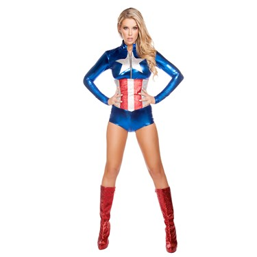 Sexy All American Temptress Costume