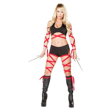 Sexy Deadly Assassin Costume