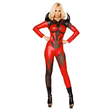 Sexy Fired Up Devil Costume